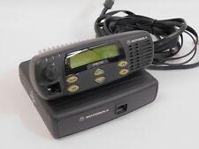 Motorola Cdm 1250 Aam25kkd9aa2an Vhf 136 174 40w 64 Channel Radio With Remote Head