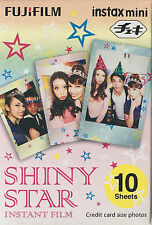 FUJIFILM INSTAX mini  SOFORTBILDFILM SHINY STAR 1 Film  für 10 Fotos