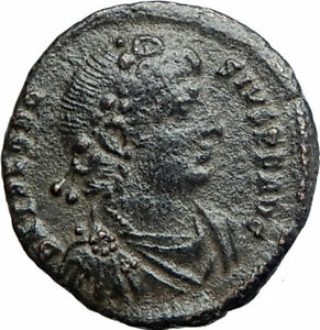 THEODOSIUS-I-the-GREAT379AD-Authentic-Ancient-Roman-Coin-Constantinopolis-i80227