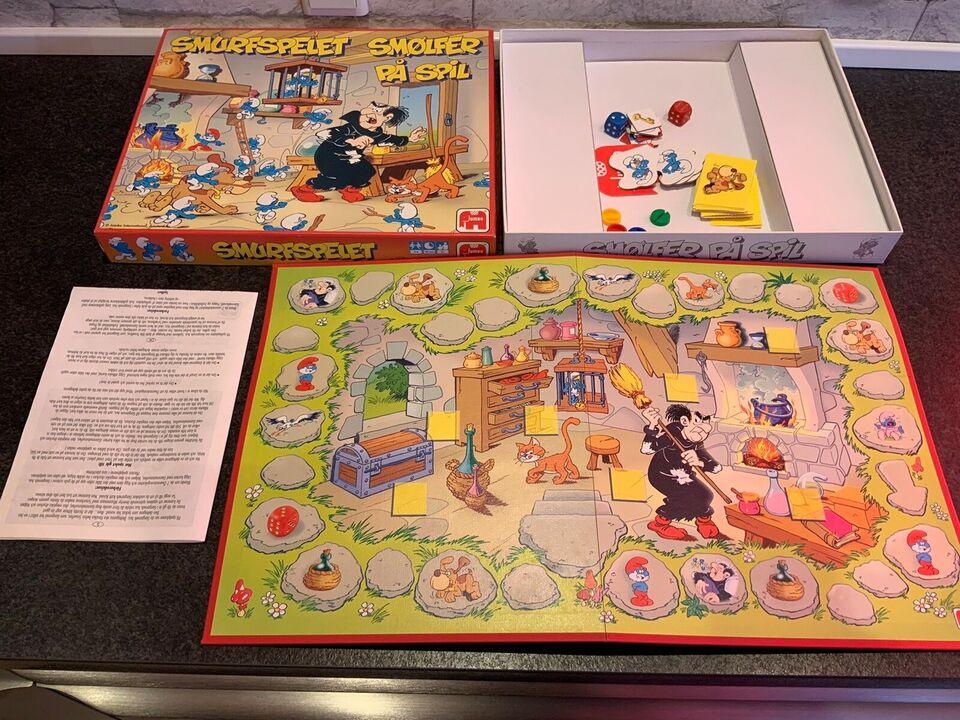 Smølfespillet, Gammelt familiespil, brætspil