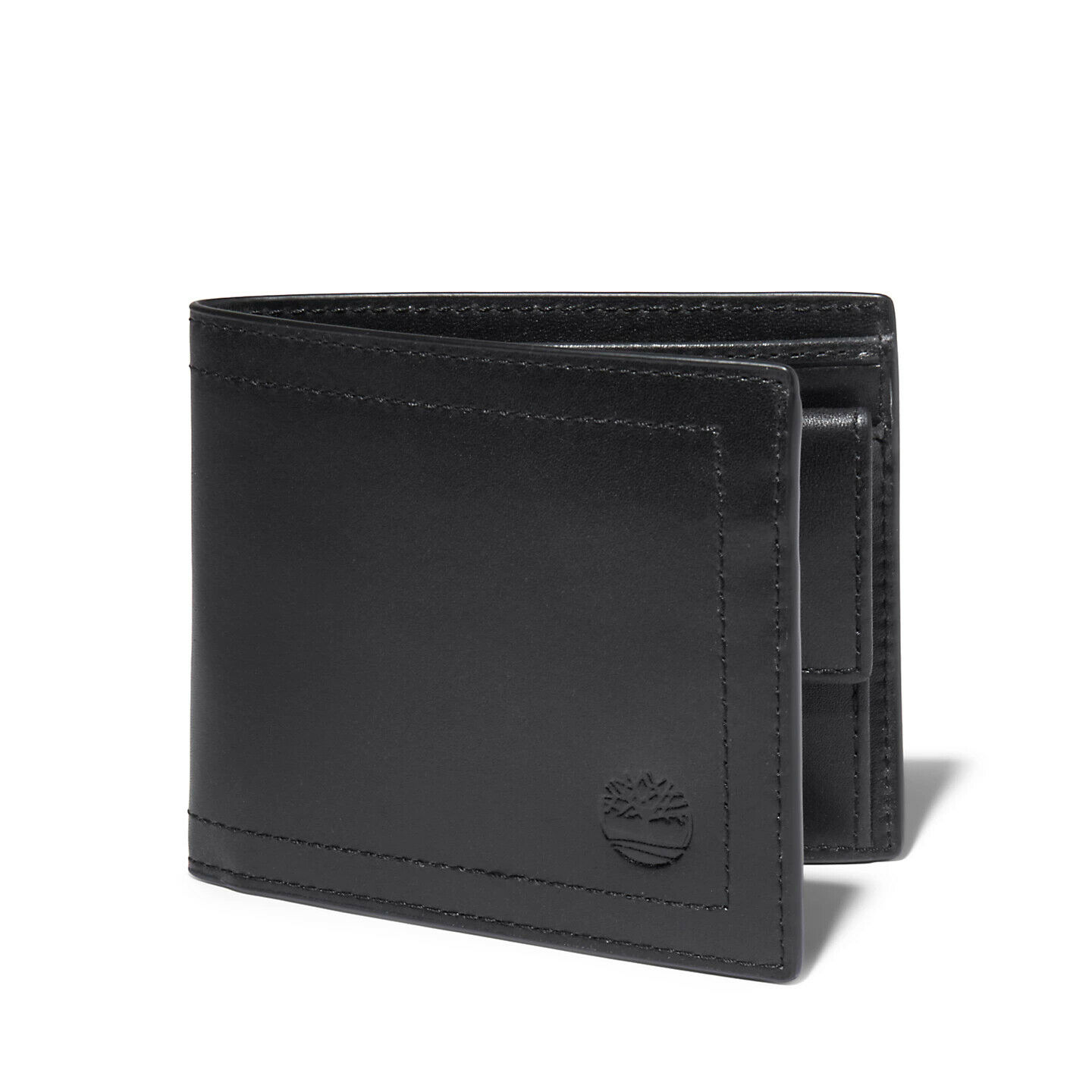 Timberland Mens Garwin Billfold Leather Wallet with Coin Pocket