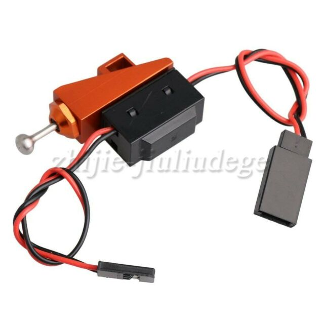 Black Waterproof On/Off Power Switch with Aluminum Mount for RC Boat Replacement