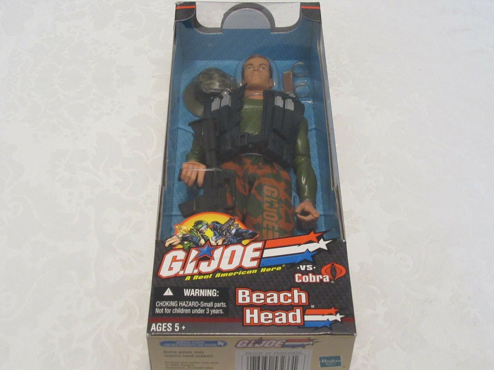 Hasbro GI G.i. Joe vs Cobra Beach Head Beachhead 12  Inch Action Figure