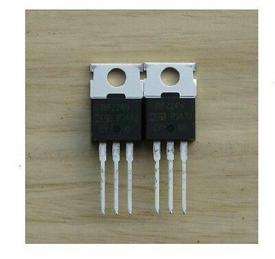 10pcs IRFZ24N IRFZ24 HEX Power MOSFET N-Channel 17A 55V