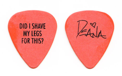 Deana Carter Orange Signature Guitar Pick 1996 Tour