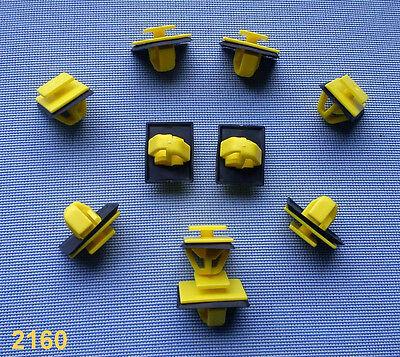 (2160) 10x Türverkleidung Abdeckung Clips Befestigung Klips Halte gelb für Kia,