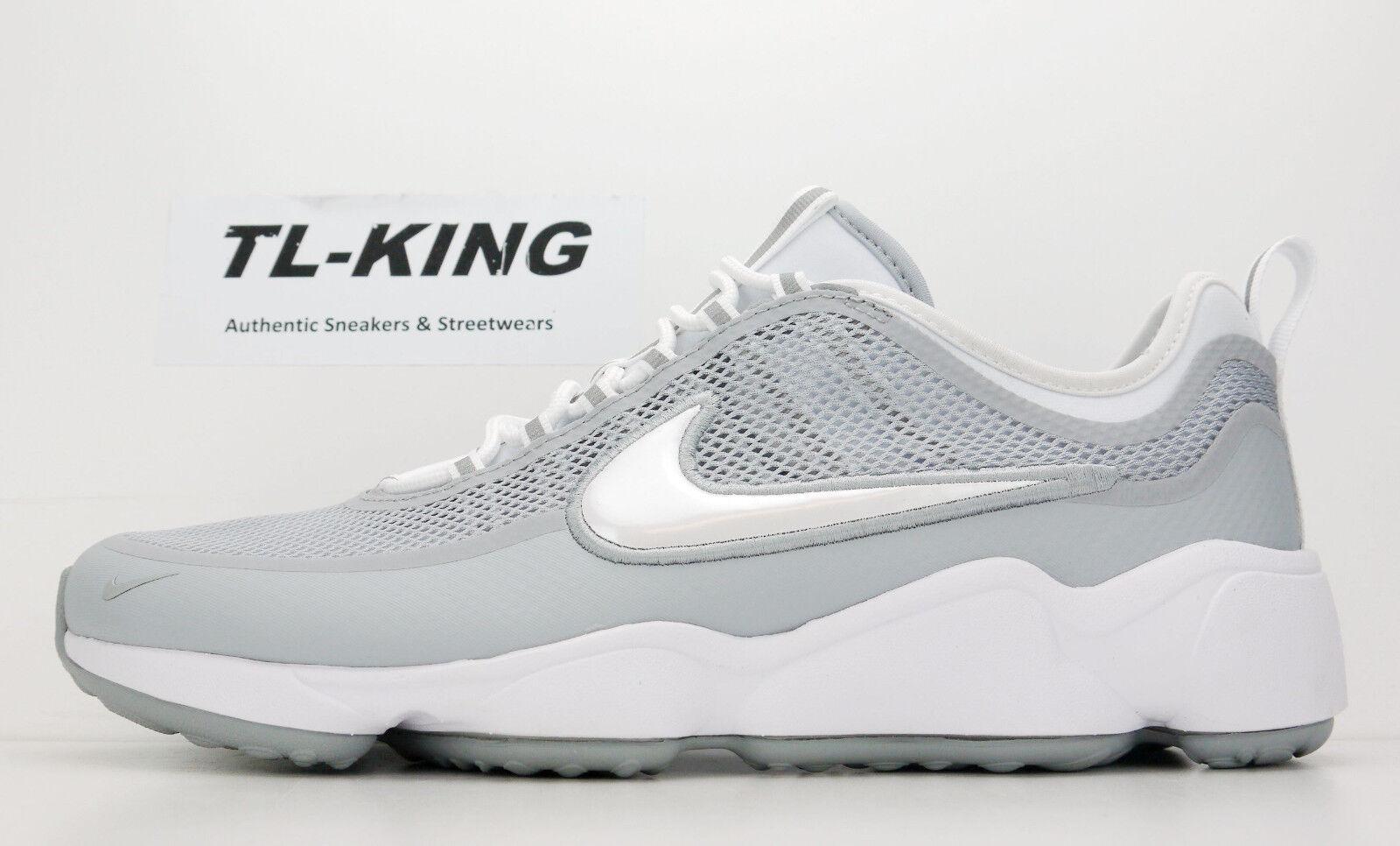 Nike zoom sprdn spiridon lupo bianco grigio 876267 100 msrp db