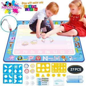 Kids Painting Writing Doodle Drawing Mat Educational Toys ...