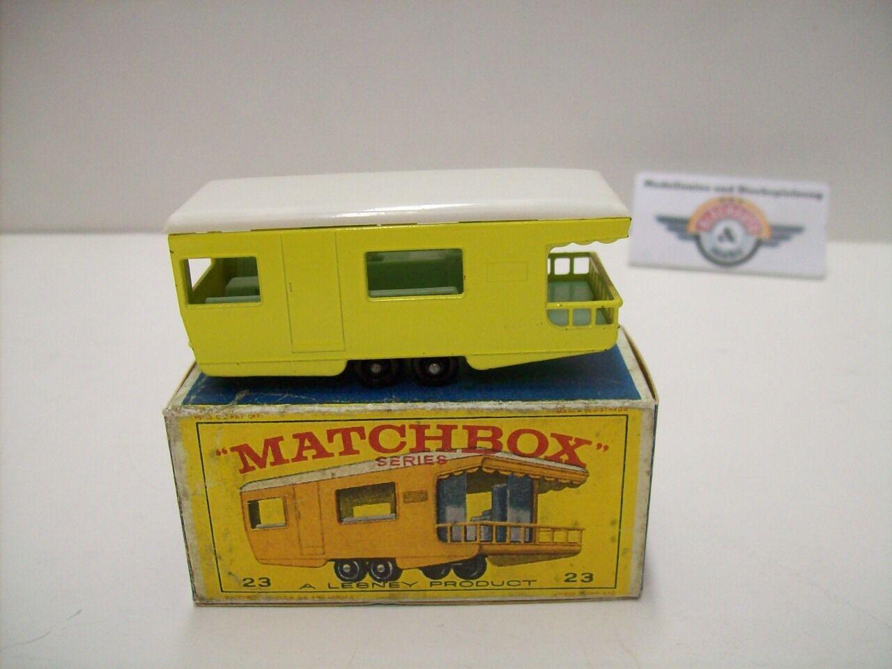 MATCHscatola 1-75, N. 23, Trailer Trailer Trailer autoavan  primero casting mold , 1965, gituttio 200932