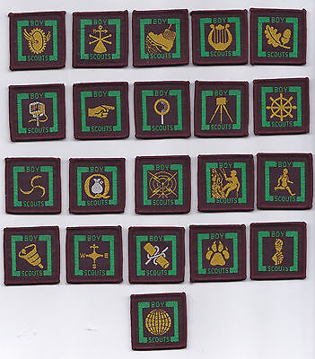 BRITISH UNITED KINGDOM Air /& Sea Scout Blue Proficiency Badge 2 1950-60/'s UK