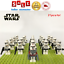 thumbnail 4 - 21pcs lot STAR WARS Clone Trooper Commander Fox Rex Mini toy building block