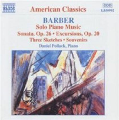 1 of 1 - Barber: Solo Piano Music, , Good Used CD CD