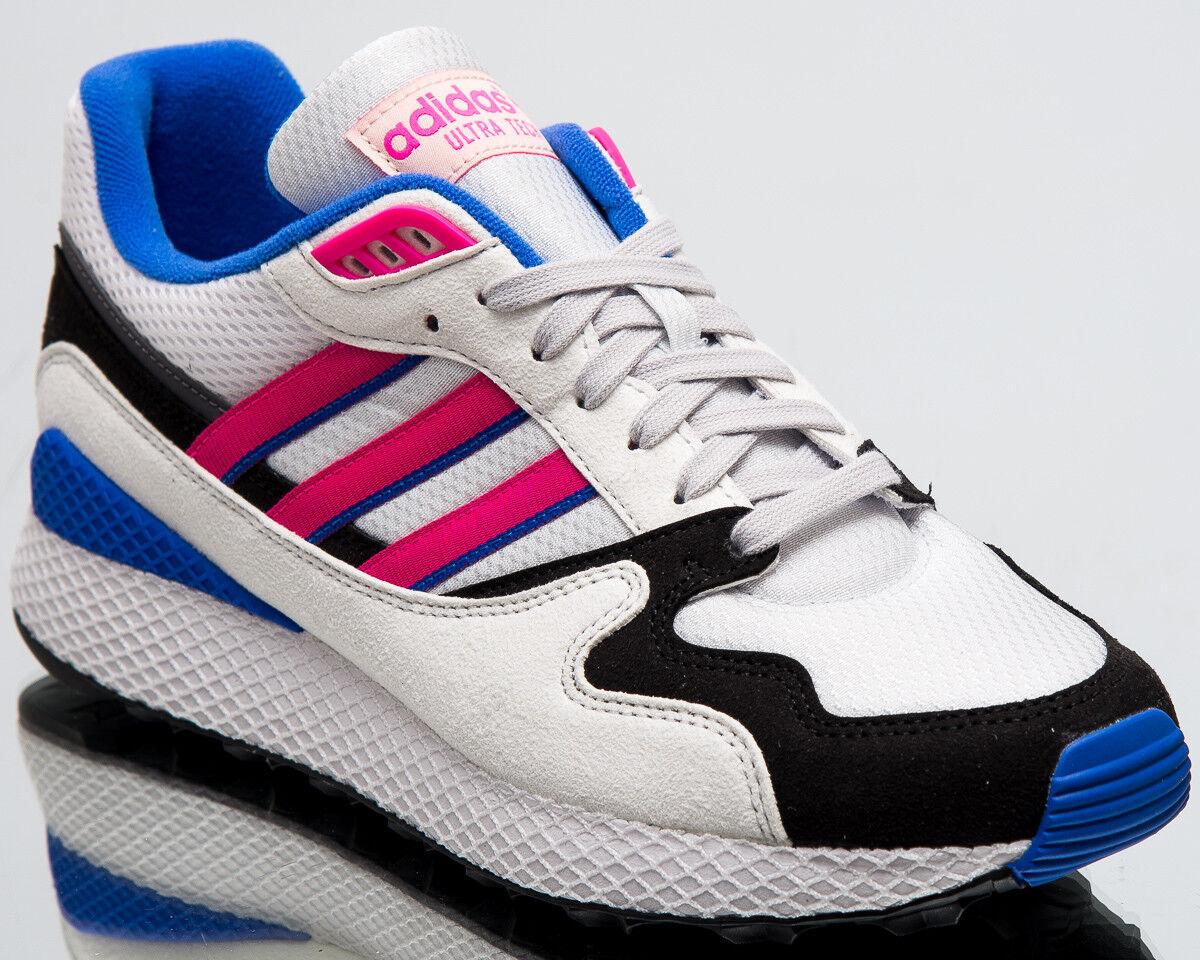 Adidas originals ultra - männer neue kristall weiß schock rosa kern schwarz aq1190