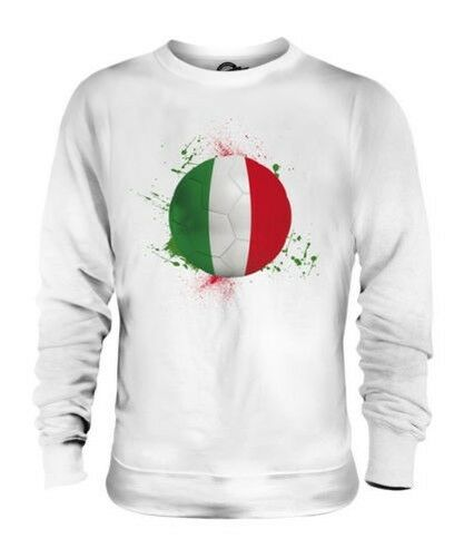 ITALY FOOTBALL UNISEX SWEATER TOP GIFT WORLD CUP SPORT