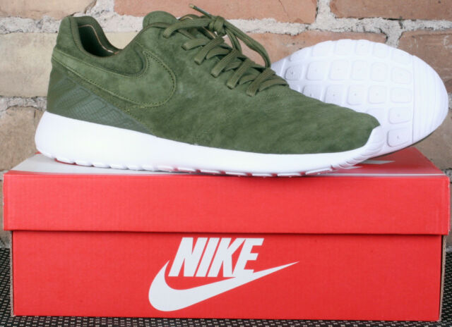 19f6739df2c7 New in Box Nike Roshe Tiempo VI Legion Green Leather Shoes 852615 300 -  Size 8.5