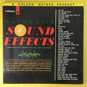 Autentico-Sound-Effects-Volume-1-Created-By-Jac-Holzman-GGL-0143-Ex