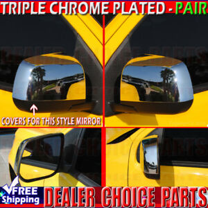 For 2015~18 Chevy Colorado GMC Canyon Chrome Mirror 4 Door Handle Tailgate Cover