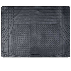 Large Heavy Duty Black Rubber Car Boot Mat Liner with Cutting Lines for BMW X1