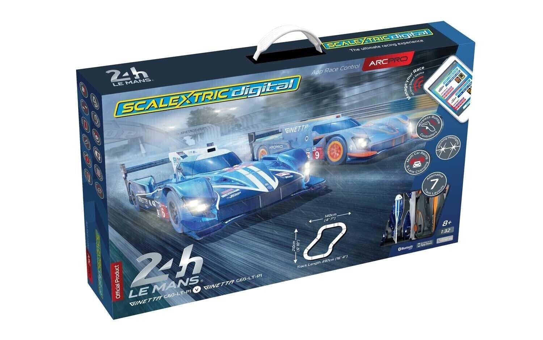 Scalextric C1404T ARC PRO 24H Le Mans Set Digital slot car race set