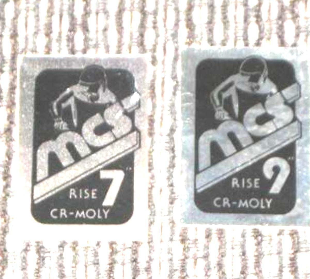 Nomura VARIETY of BAR /& SEAT Post Decals-Diamond Back Race MCS /& CW