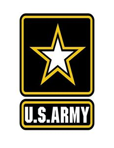 us army star logo vinyl decal sticker army strong ebay rh ebay com images army strong logo army strong logo font