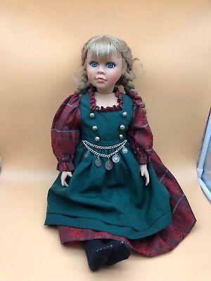 Careful Rothkirch Porzellan Puppe 51 Cm Top Zustand Sales Of Quality Assurance Art Dolls-ooak