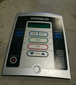Weslo crosswalk 5.2T Treadmill Display Console Assembly ETWL31312. 334077