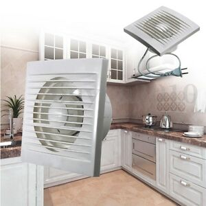 Details about Ventilation Extractor Exhaust Fan Blower Window Wall Kitchen  Bathroom Toilet