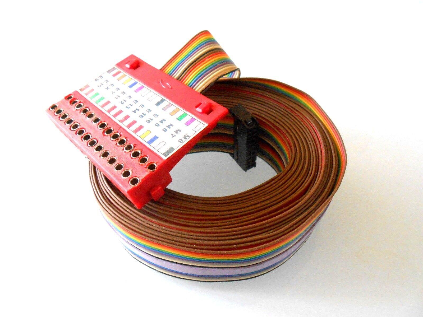 Fischertechnik Computing Kabel mit greeneileplatte Sehr Sehr Sehr Lange Kabel   5dd7ed