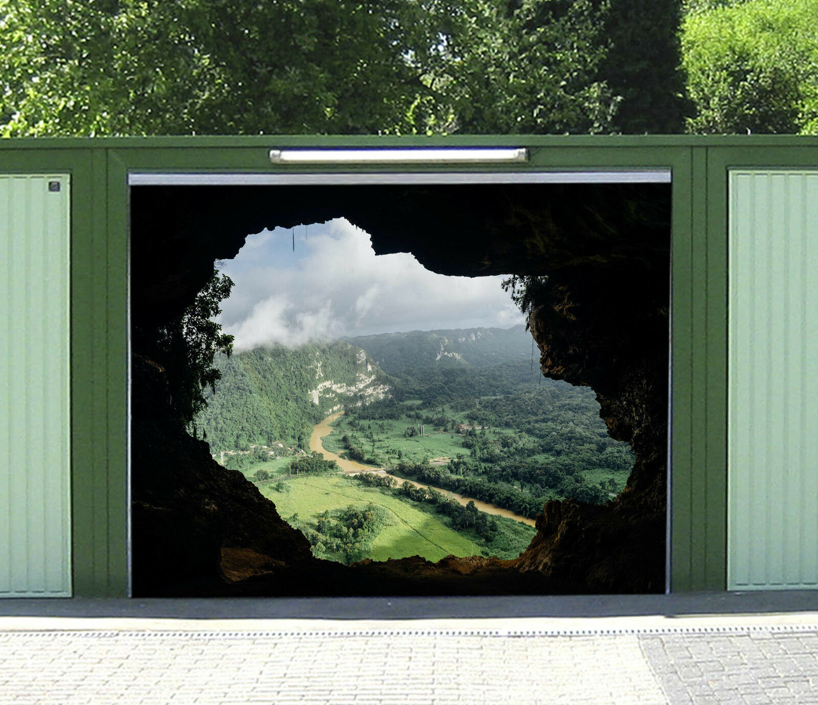 3D Cave Scenery 14 Garage Door Murals Wall Print Decal Wall Deco AJ WALLPAPER IE