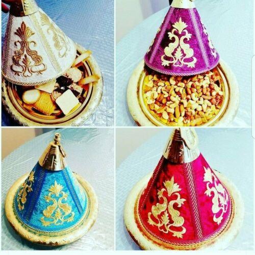 Handmade Moroccan Brass Tajine