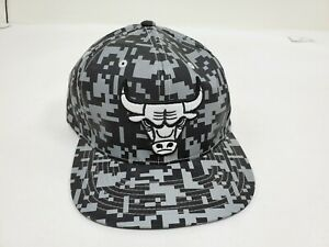 New Chicago Bulls Mitchell & Ness NBA All Over Pattern Snapback,Cap,Hat