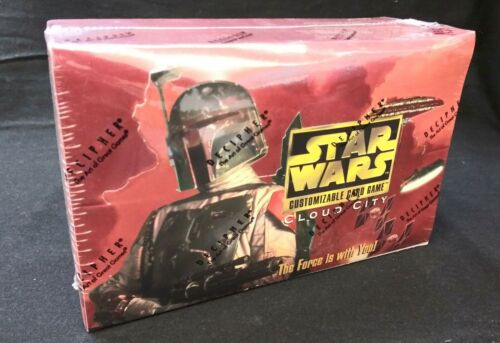 Star Wars CCG CLOUD CITY LIMITED BOOSTER PACK BOX 60CT FACTORY SEALED!!