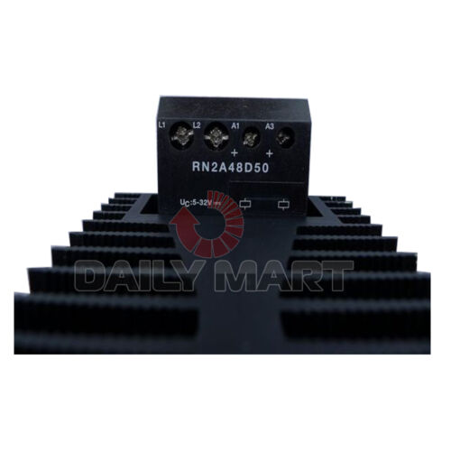 New Carlo Gavazzi RN2A48D50 Solid State Relay DPST 50A DIN Rail 42VAC 530VAC 1PC