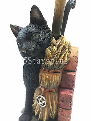 The Witching Hour By Lisa Parker Cat Statue Sculpture Figurine 100/% Authentic