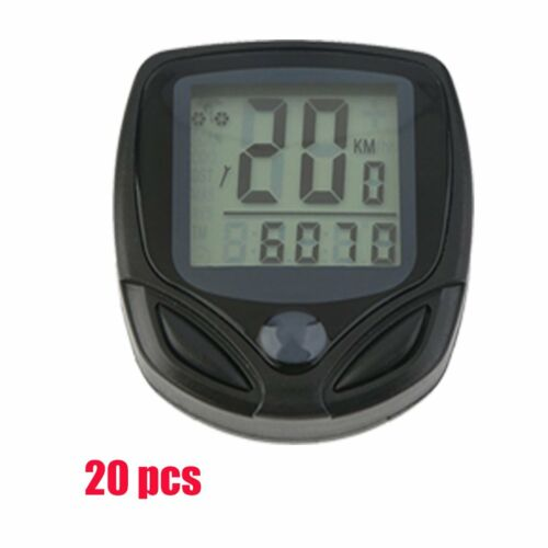 Waterproof Wireless LCD Digital Cycle Bike Bicycle Computer Speedometer/&Odometer