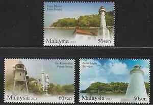 463-MALAYSIA-2013-LIGHTHOUSES-IN-MALAYSIA-II-SET-FRESH-MNH