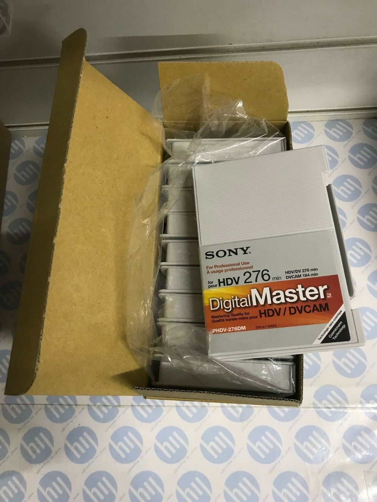 SONY HDV Video Tape Phdv-276DM 10 pieces new in box