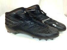 on sale 616fd 2b048 Adidas Mens 16 Freak X Carbon Mid Football Cleat Q16058 Triple Black  BLACKOUT 889132139655  eBay