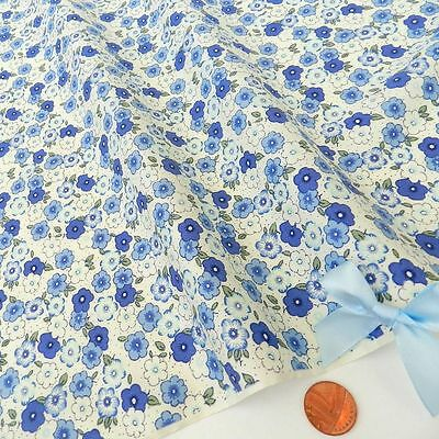 Tessuti Disegni A Fiori Venduti A Scampoli 45x55cm 100% Cotone