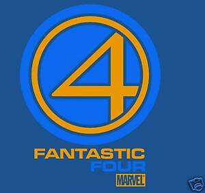 Fantastic-Four-Movie-Logo-Extra-Large-XL-T-Shirt