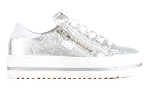 Teen Damesschoenen Silver Wedge P931030f Nero Lakleder Gold Giardini Sneaker w8kXn0OP