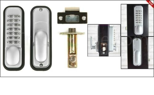 Pulsante Meccanico Digitale Serratura Codice Combinazione Accesso senza chiave