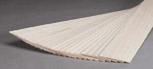 Balsa Wood 1/32 X 3 X 36 (10) BNM1130