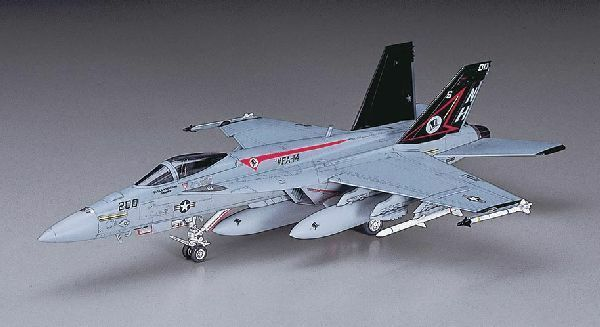 Hasegawa Boeing F/A-18E Super Hornet U.S. Navy Carrier-Borne Fighter/Attacker