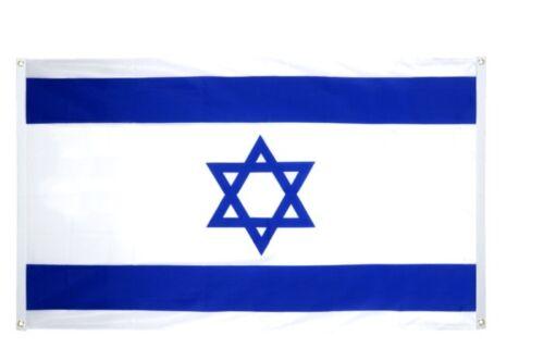 BALKONFLAGGE BALKONFAHNE Israel Flagge Fahne für den BALKON 90x150cm