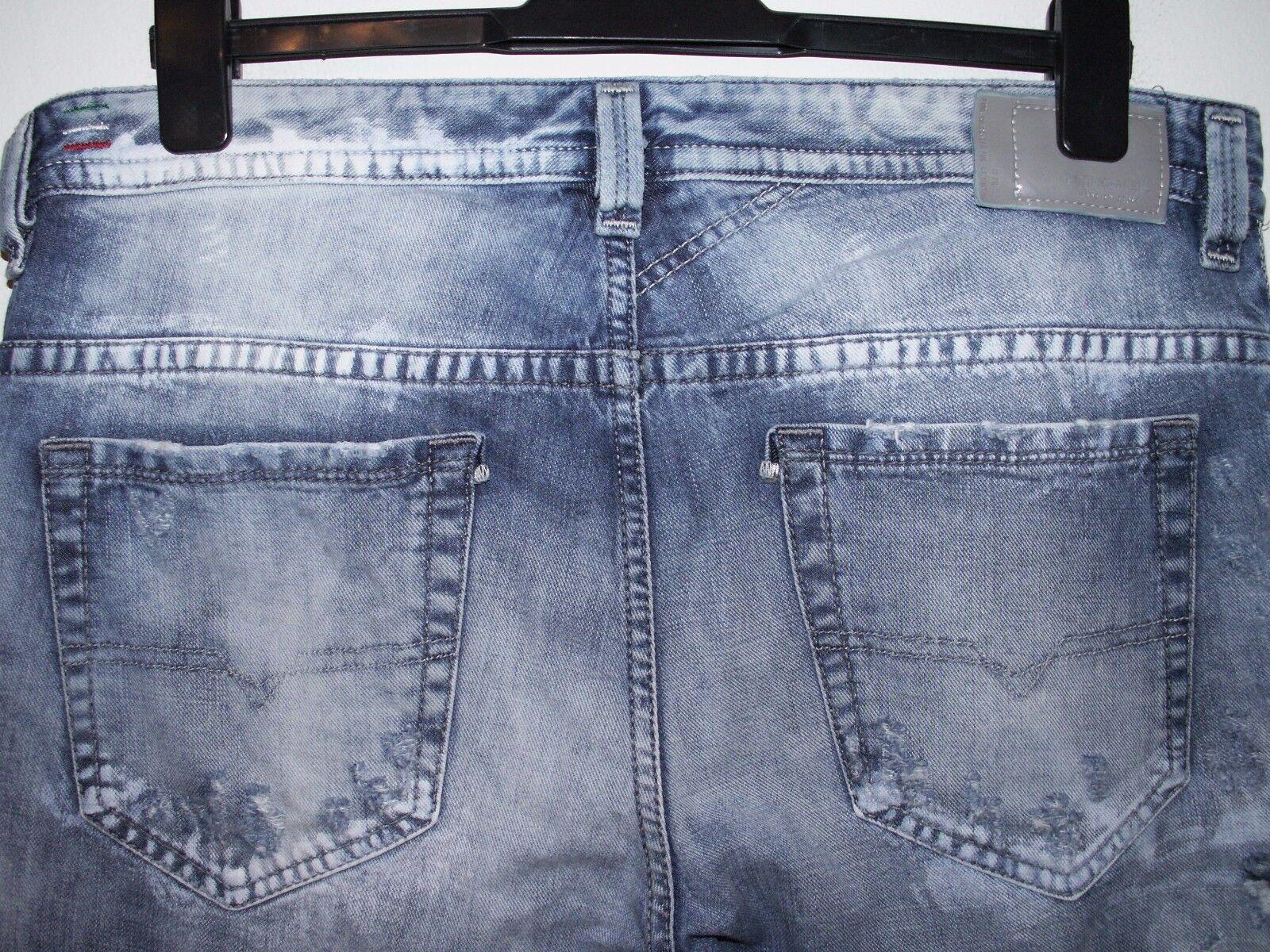 Diesel thavar slim-skinny fit jeans wash 0840S W34 L30 (a2868)
