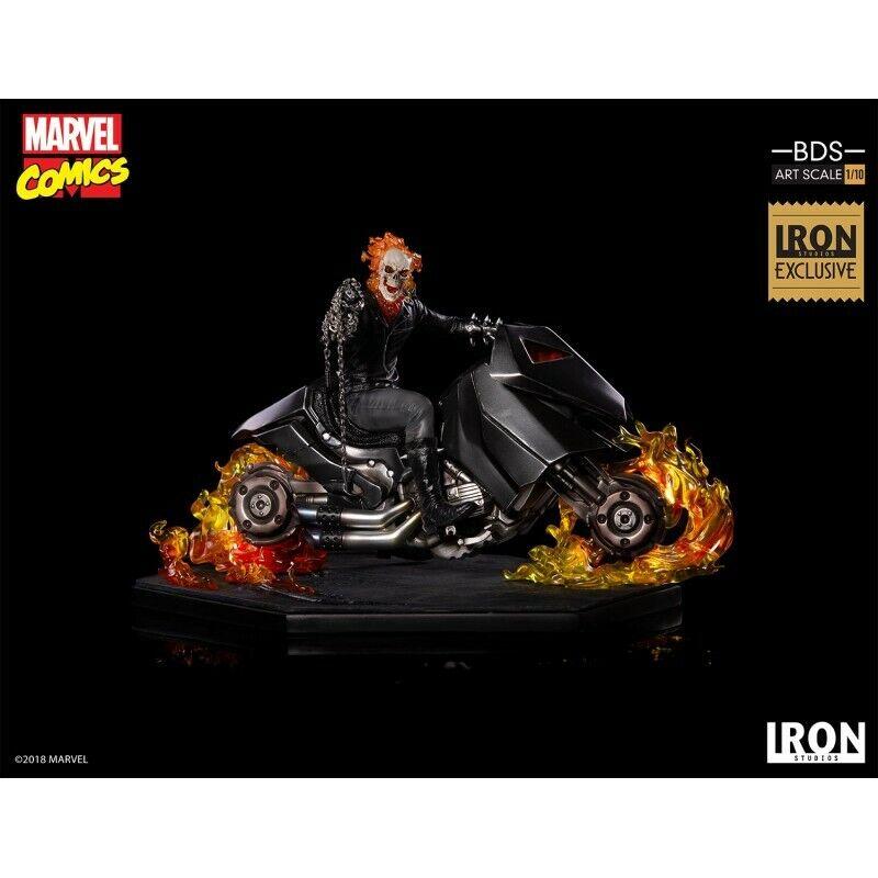 Ghost Rider Exclusive Iron Studios Stato Nuovo Vedere Mas Articoli Tulle