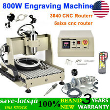 5 Axis Cnc 3040z Engraving Milling Machine Engraver Cutter Usb Router Drill Rc