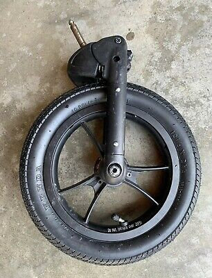"""Double Baby Jogger Summit X3 Stroller Rear Wheel Black Parts 16/"""" NEW  Tire"""